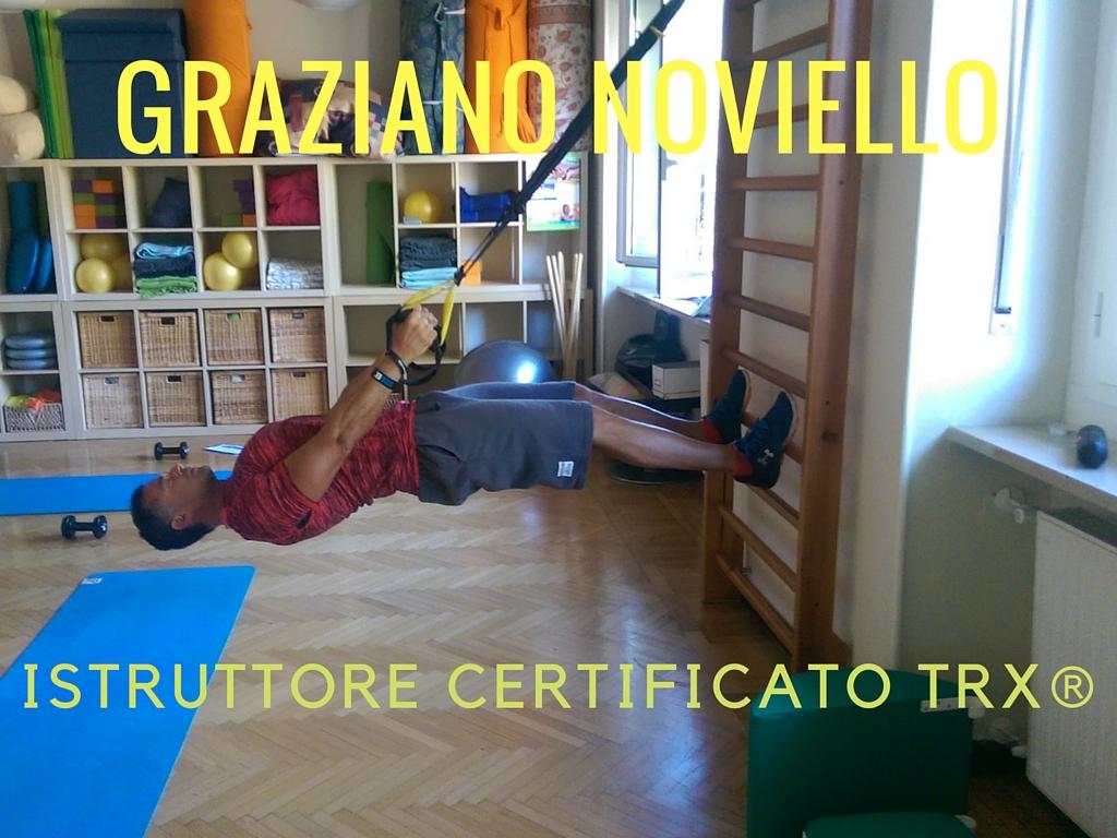 Graziano Noviello Personal Trainer Genova Lezioni TRX Functional